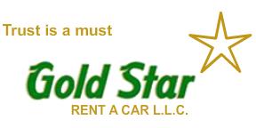 Gold Star Rent A Car LLC logo