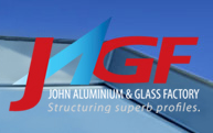 John Aluminium & Glass Factory LLC logo
