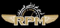 RPM Rent A Car logo
