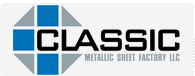 Classic Metallic Sheet Factory logo