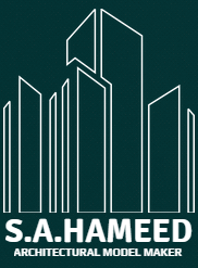 S A Hameed Architechural Modelmaking logo