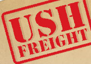 Ush Freight Free Zone logo