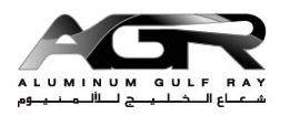 ALUMINIUM GULF RAY logo
