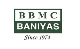 BANIYAS BUILDING MATERIALS EST logo