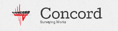 CONCORD SURVEYING WORKS CO logo