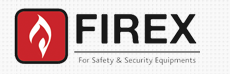FIREX FOR SAFETY & SECURITY EQUIPMENT logo