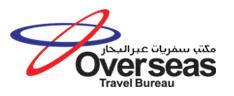 OVERSEAS TRAVEL BUREAU logo