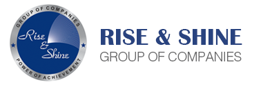 Image result for Rise And Shine Group: logo