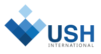 USH International businessman services logo